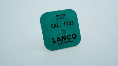 Lanco - Cal 1103 - Part#227 Seconds Wheel-Welwyn Watch Parts