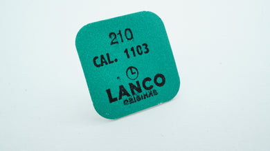 Lanco - Cal 1103 - Part#210 Third Wheel-Welwyn Watch Parts
