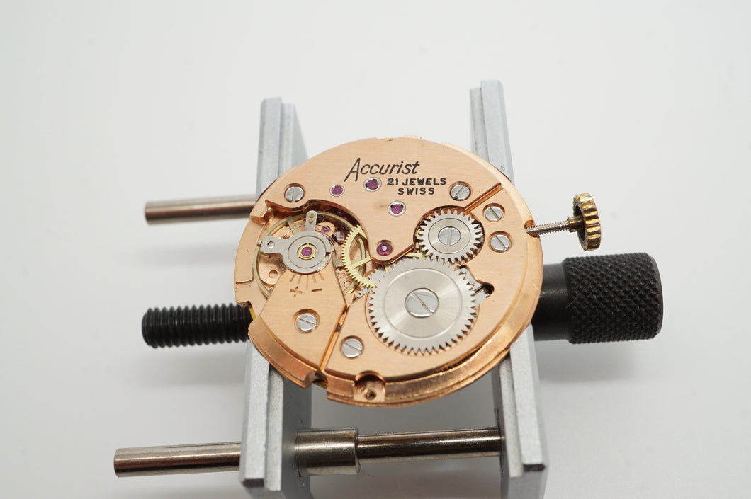 Peseux Calibre 7056 - Manual Wind Movement / Date-Welwyn Watch Parts
