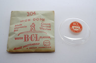 BCL Acrylic Watch Glasses For Centre Seconds - High Dome-Welwyn Watch Parts