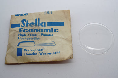 Stella Eco Waterproof Acrylic Glasses - NOS-Welwyn Watch Parts