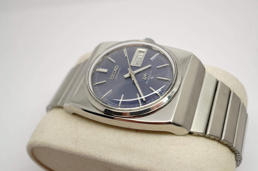 Seiko LordMatic - Blue Dial - Model 5606-6020-Welwyn Watch Parts