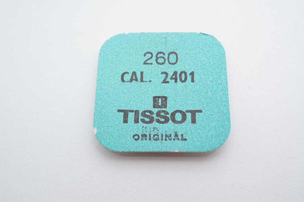 Tissot - Calibre 2401 - Minute Wheel - Part # 260-Welwyn Watch Parts