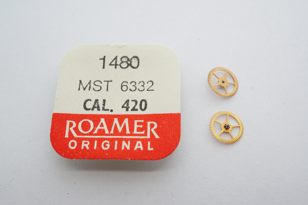 MST/Roamer - Cal 420 - Winding Up Wheel - Part# 1480-Welwyn Watch Parts
