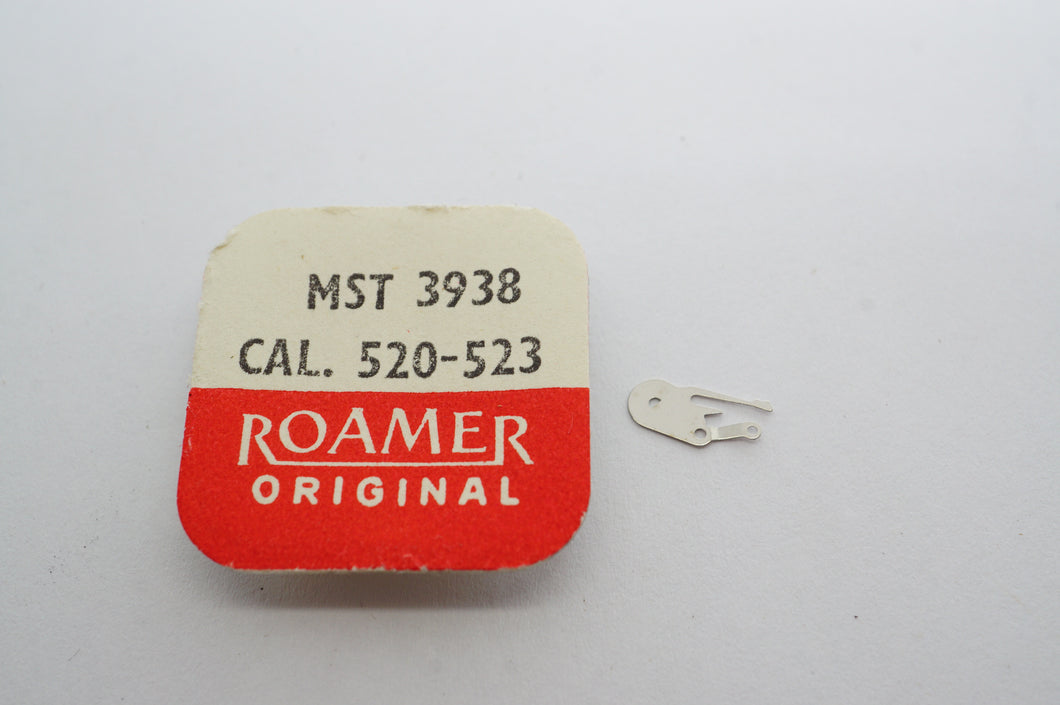 MST/Roamer - Cal 520/523 - Setting Lever Cock - Part# 3938-Welwyn Watch Parts