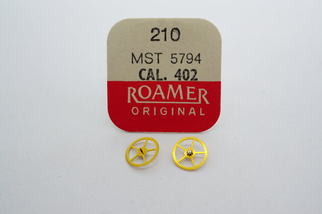 MST/Roamer - Cal 402 - 3rd Wheel - Part# 210-Welwyn Watch Parts