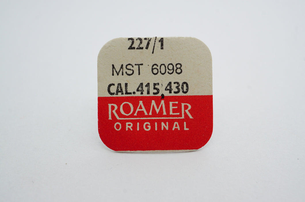 MST/Roamer - Cal 415/430 - Centre Seconds Wheel - Part# 227/1-Welwyn Watch Parts