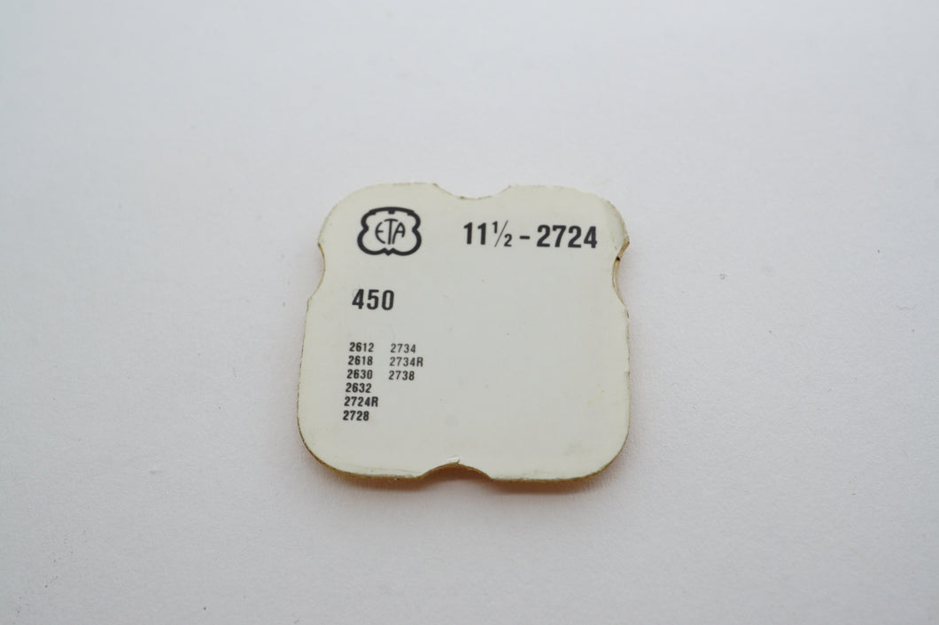 ETA - Cal 2724 - Setting Wheel - Part # 450-Welwyn Watch Parts