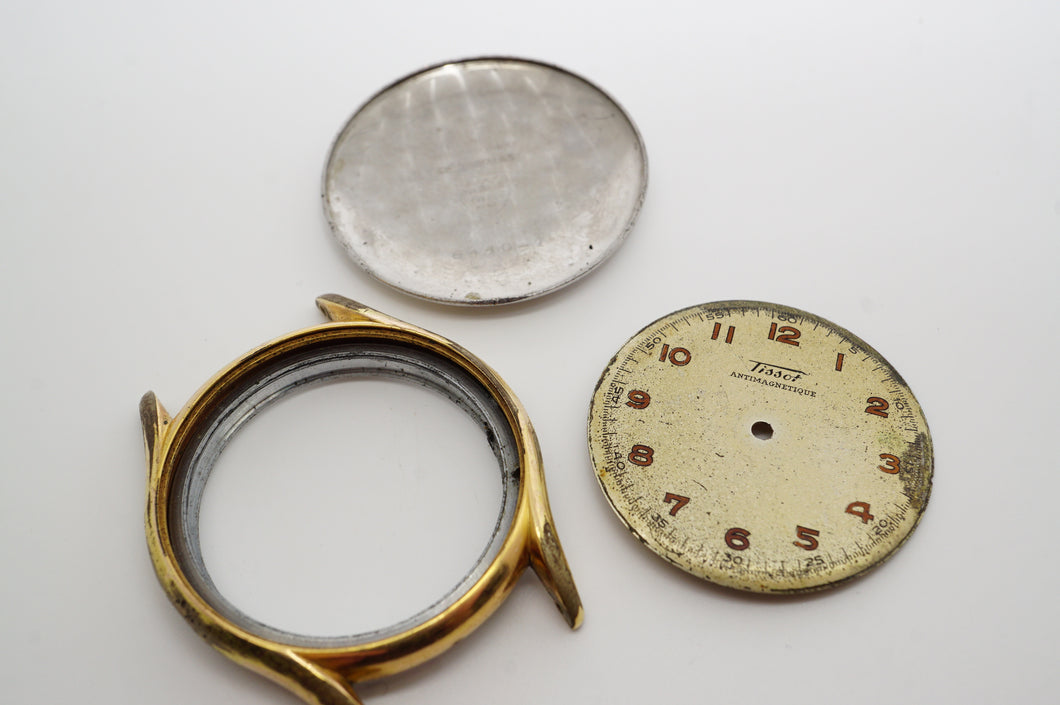 Tissot - Calibre 27.2 - Casing & Dial - Used/Poor-Welwyn Watch Parts
