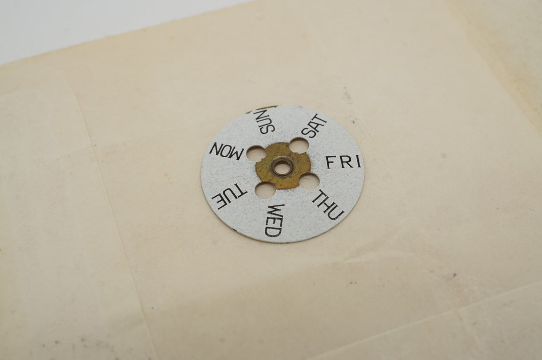 EB - Calibre 8397-67 - Day Wheel - Part # ?-Welwyn Watch Parts