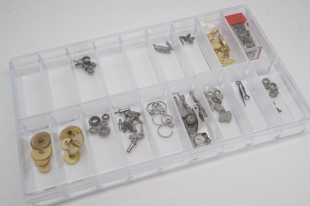 Omega Pocket Watch Parts Assortment - For The Watchmaker-Welwyn Watch Parts