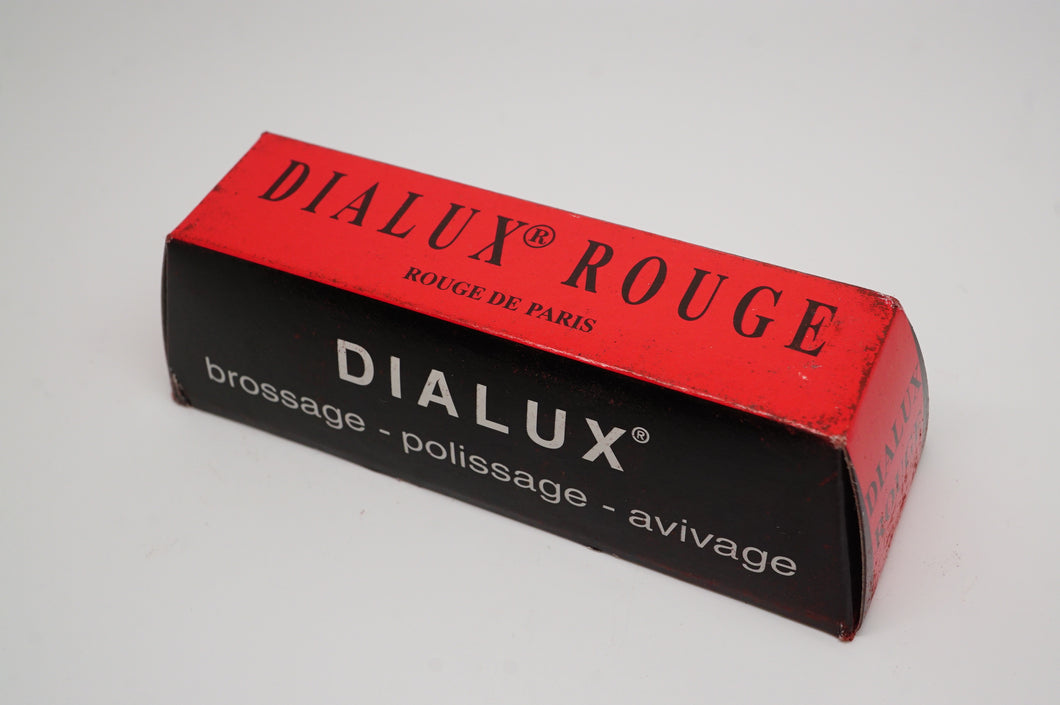Dialux Premium Polishing Compound - Red/Rouge -110g-Welwyn Watch Parts