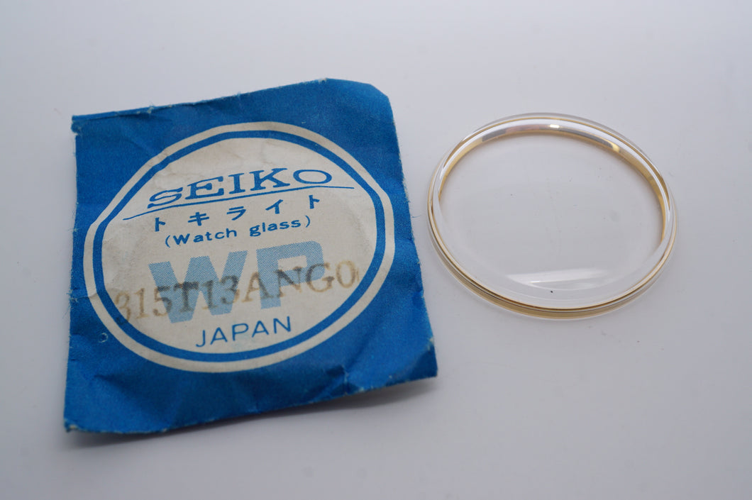 Seiko Acrylic Glass - Genuine NOS - Part # 315T13ANG0-Welwyn Watch Parts