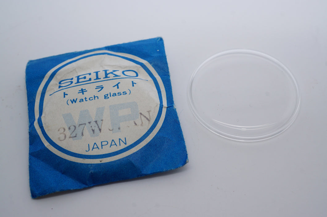 Seiko Acrylic Glass - Genuine NOS - Part # 327W07AN-Welwyn Watch Parts