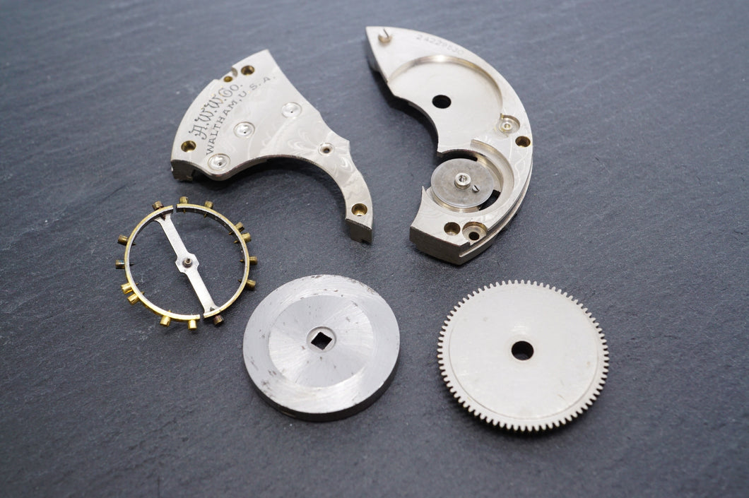 Waltham - Grade 610 - Model 1908 - Movement Parts-Welwyn Watch Parts