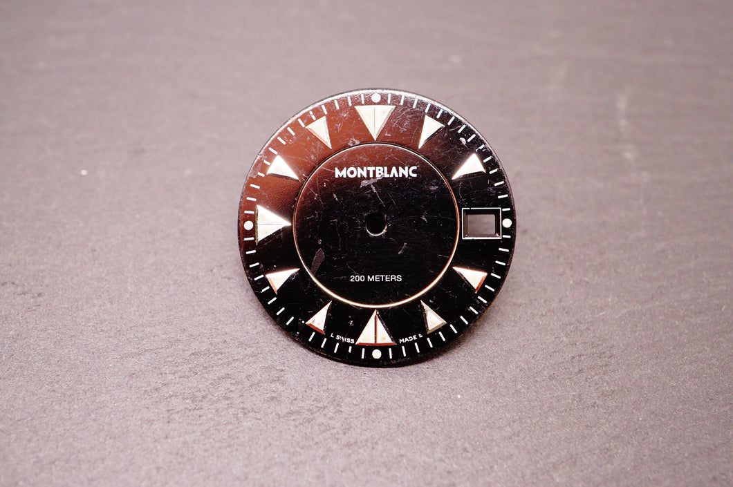 Montblanc Automatic Dial 200m - Black - 27mm-Welwyn Watch Parts