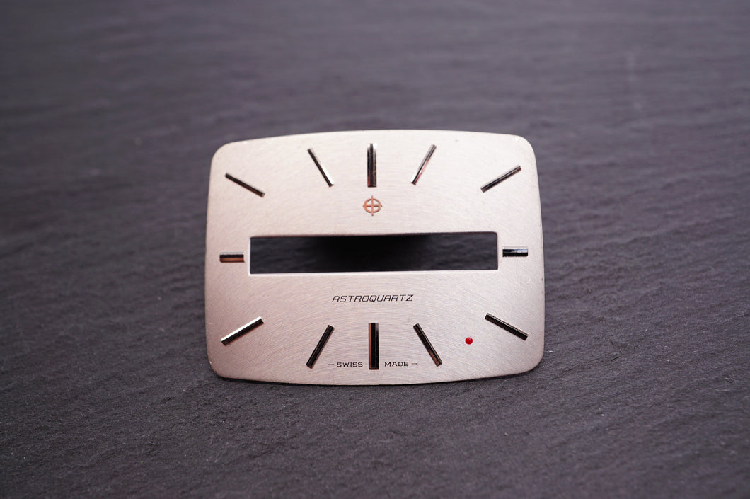 Zodiac Dial - Astroquartz Silver - 34x26mm-Welwyn Watch Parts