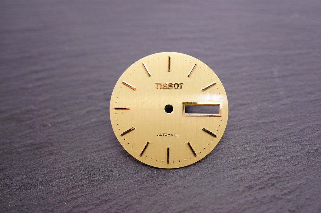 Tissot - Gold Day/Date Automatic - 27mm-Welwyn Watch Parts