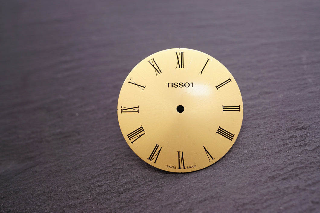 Tissot - Gold Roman Numerals - 28.4mm-Welwyn Watch Parts
