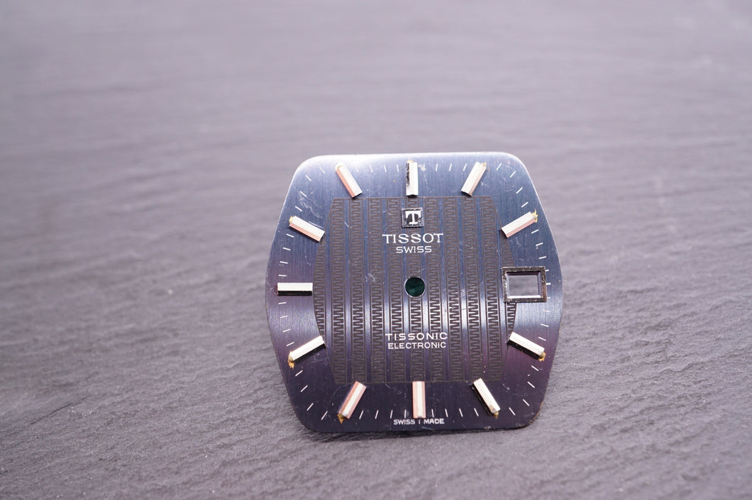 Tissot - Electronic Tissonic - Blue - 31x29mm-Welwyn Watch Parts
