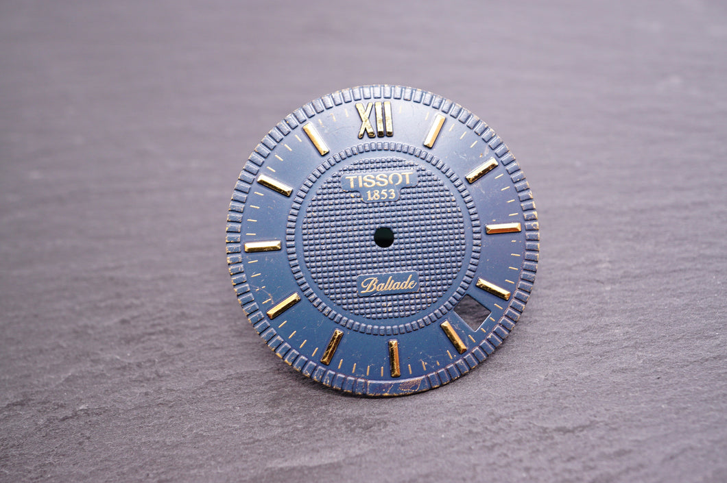 Tissot - Ballade Blue Dial - 28mm-Welwyn Watch Parts