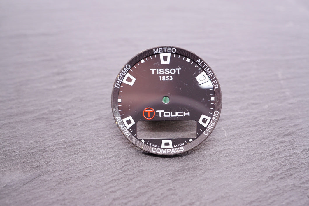 Tissot - T Touch Gloss Dark Grey Dial - 28mm-Welwyn Watch Parts