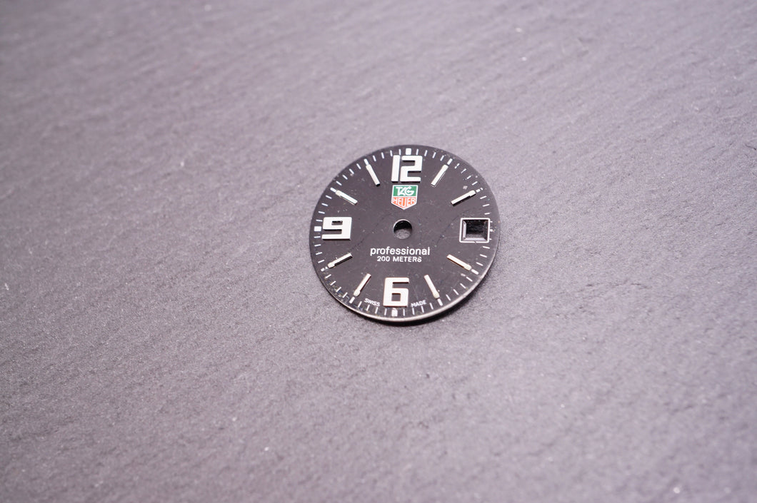 Tag Heuer - Dial - Professional 200m Ladies - Used 18mm-Welwyn Watch Parts