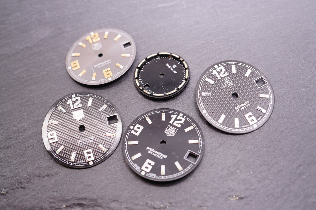 Tag Heuer Mixed Dials - Used 19-26mm-Welwyn Watch Parts