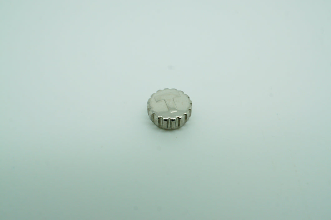 Tissot Stainless Steel Crown - T342.442 - 6.00mm - New-Welwyn Watch Parts