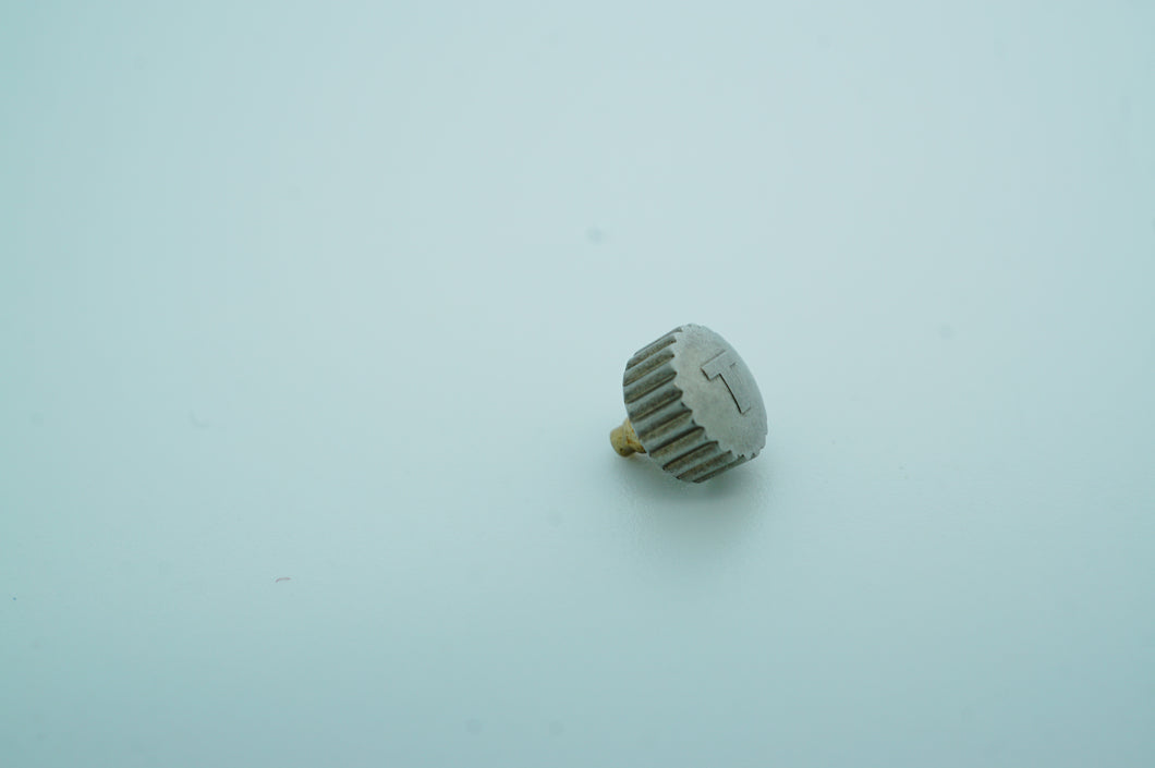 Tissot Stainless Steel Screwdown Crown - P363.483 - 5.50mm - New-Welwyn Watch Parts