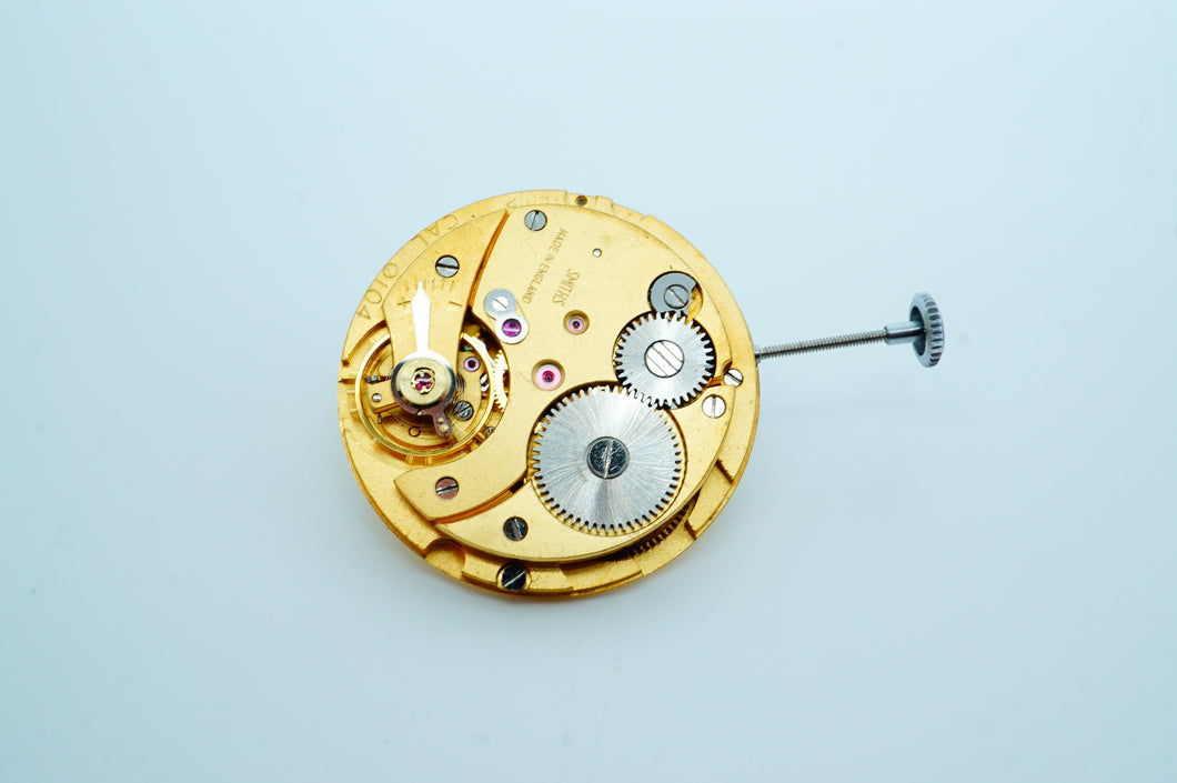 Smiths Calibre 100 ( 104 ) Movement - 19 Jewel-Welwyn Watch Parts