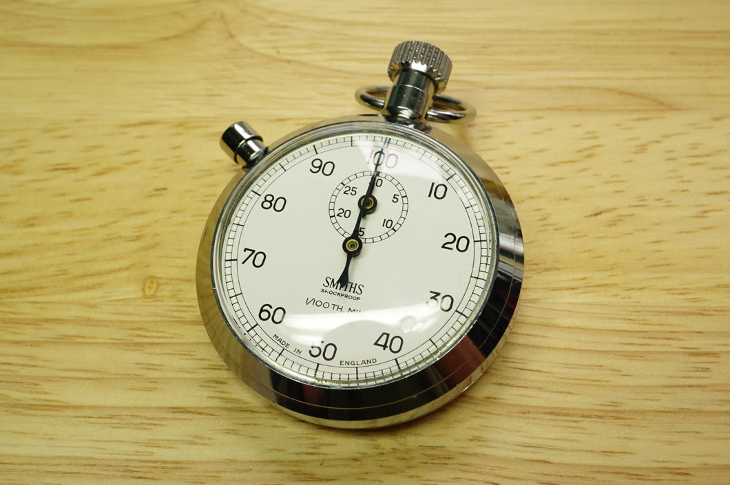 Smiths 1/100th Shockproof Stopwatch - Ref C229 - 1968 Catalogue-Welwyn Watch Parts