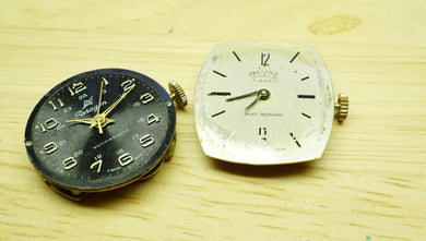 Amida + Unknown Movements - Spares & Repairs - Watchmakers Lot-Welwyn Watch Parts