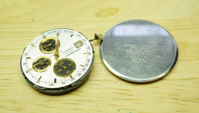 Citizen Quartz Chrono Movement 0510A - Spares/Runs-Welwyn Watch Parts