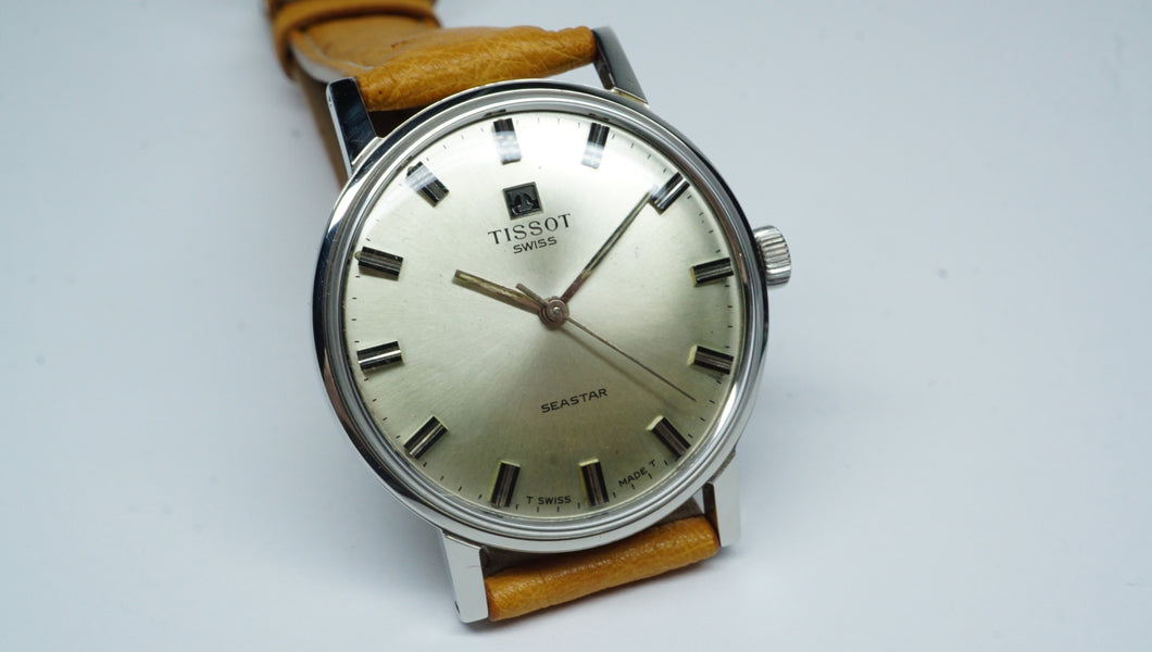 Tissot Swiss - Sea Star - Manual Wind Vintage Watch - Cal 781-1-Welwyn Watch Parts