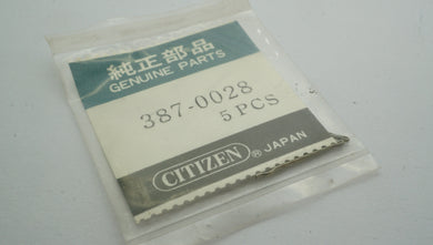 Citizen - Movement Part - #387-0028 - Split Pins-Welwyn Watch Parts