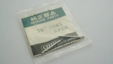 Citizen - Movement Part - #387-1085 - Bracelet Screws-Welwyn Watch Parts