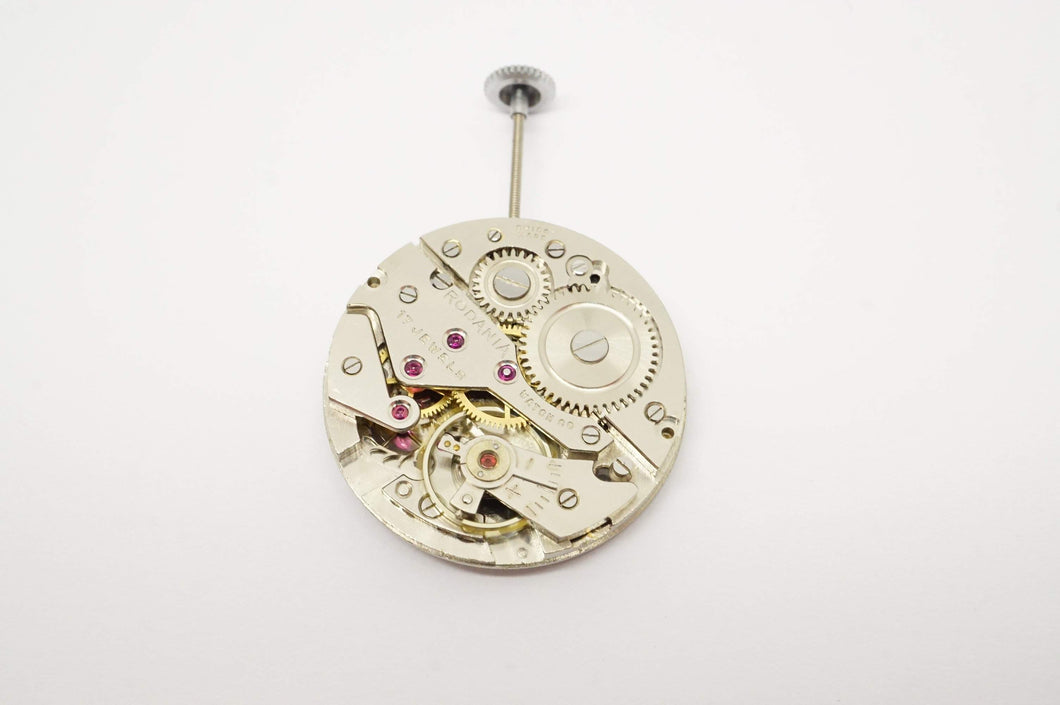 Rodania Movement - AS 1002 Calibre - Used/Running-Welwyn Watch Parts