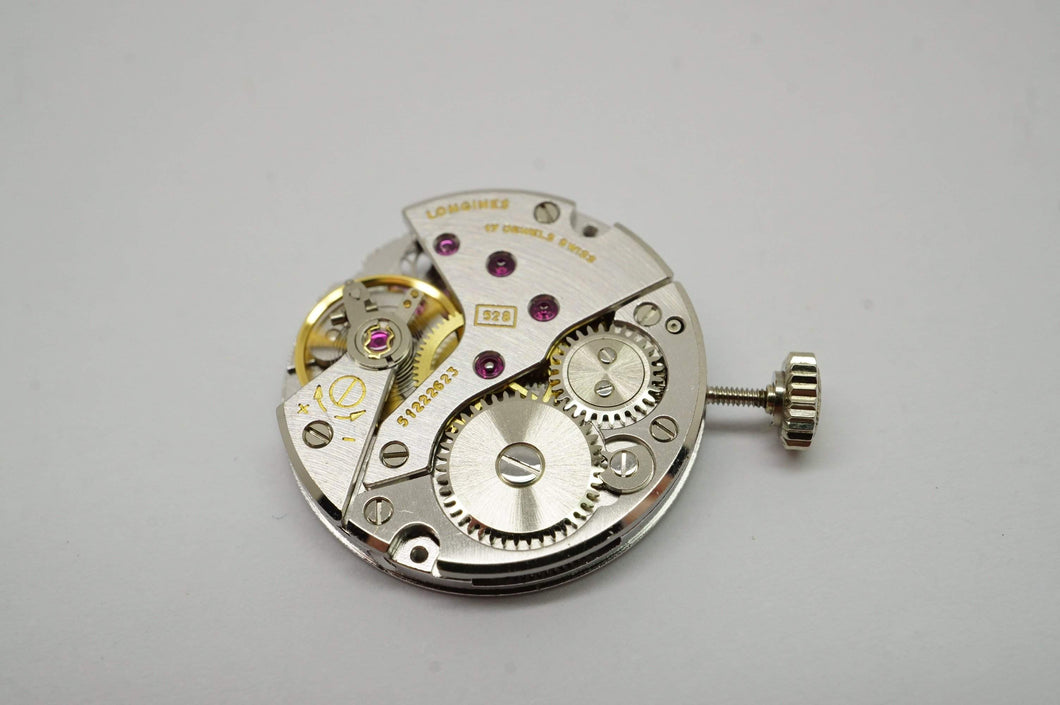 Longines Calibre L528 Movement - Serviced - Signed Crown-Welwyn Watch Parts