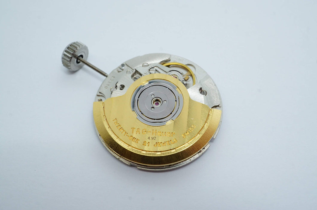 Tag Heuer Cal 4.92 ( ETA 2892 A2 ) 21 Jewel Automatic Movement - Used-Welwyn Watch Parts