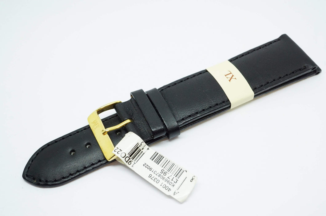 Morellato Italian Leather Strap -XL 22mm - GP Buckle-Welwyn Watch Parts