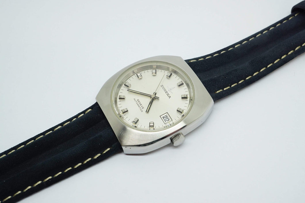 Dugena Geneve Automatic - ETA 2824 - Wristwatch - 1970's-Welwyn Watch Parts