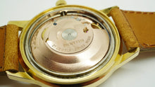 Fortis Gents Gold Plated Automatic Watch - Genuine Fortis Strap-Welwyn Watch Parts