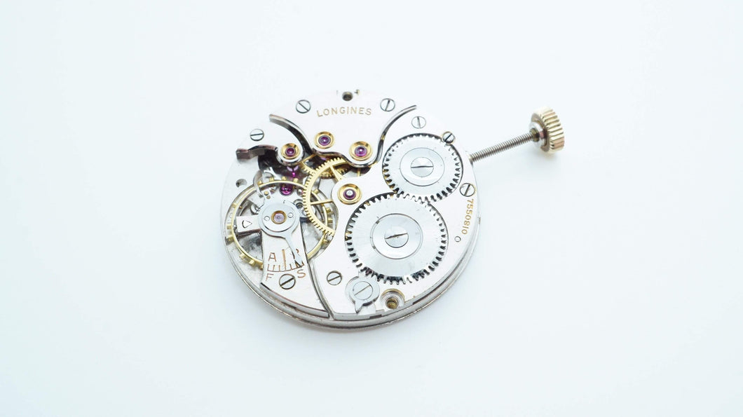 Longines Movement - Calibre 23M - Manual Wind - Used/Running-Welwyn Watch Parts