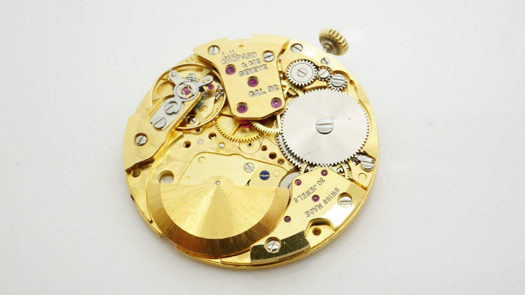 Chopard Calibre 92 ( Buren 1281 ) - 30 Jewel Automatic Movement-Welwyn Watch Parts