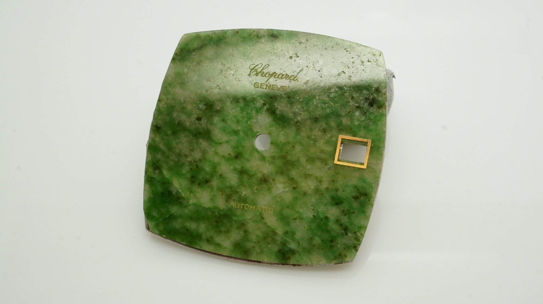 Chopard Geneve Dial - Chrysoprase Stone - Date Window - Cal 92-Welwyn Watch Parts