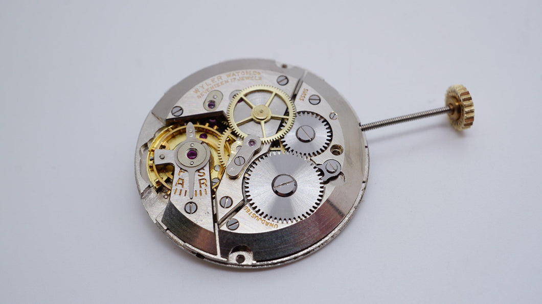 Wyler - Calibre 900/901 ( ETA ) Movement - Used/Running-Welwyn Watch Parts