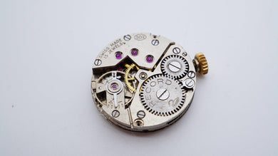 Record - Calibre 302 Movement - Used/Runs-Welwyn Watch Parts
