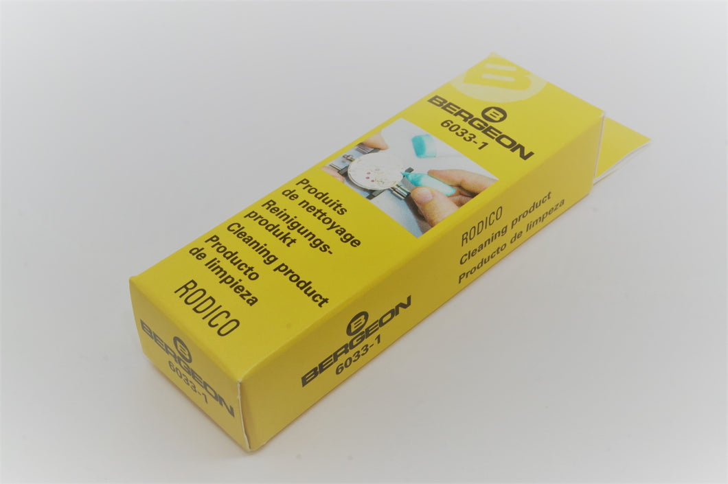Bergeon Rodico - 6033-1 - Watch Cleaning Compound-Welwyn Watch Parts