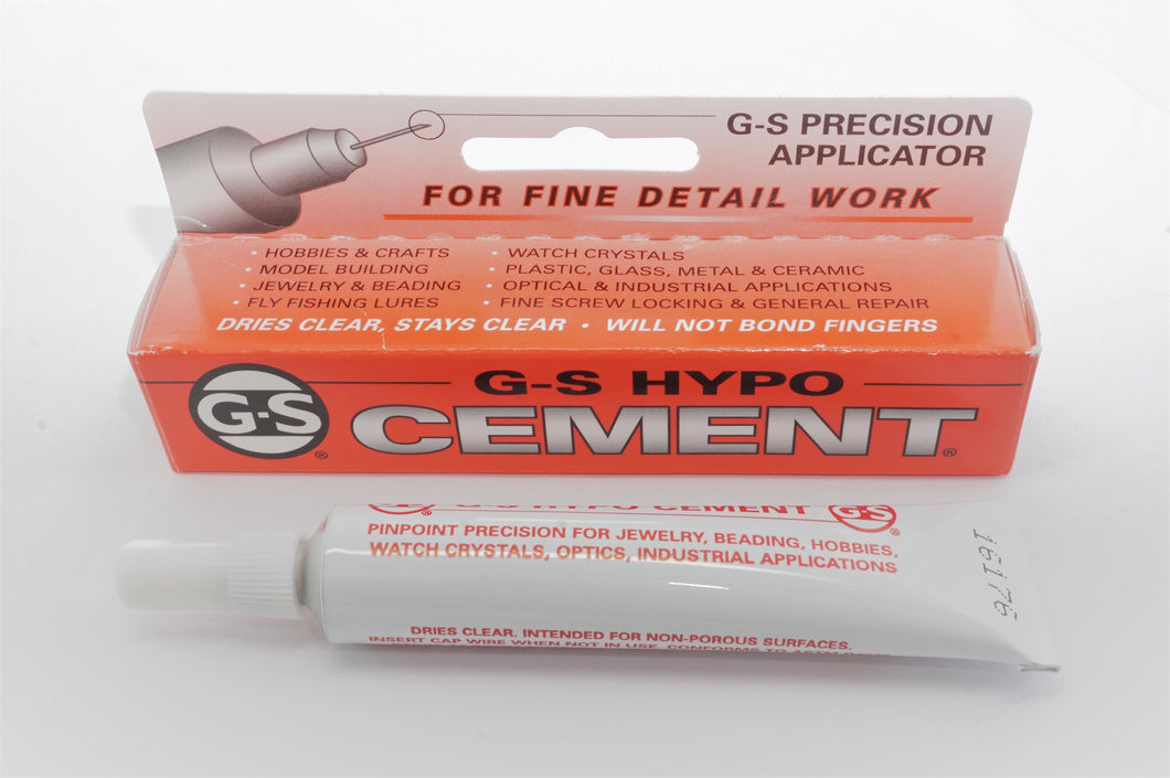 GS Hypo Cement - Jewellers/Watchmakers Cement Adhesive-Welwyn Watch Parts